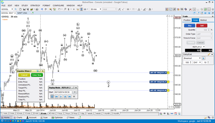 Signup for our 14 Day Free Trial - Elliott Wave Software