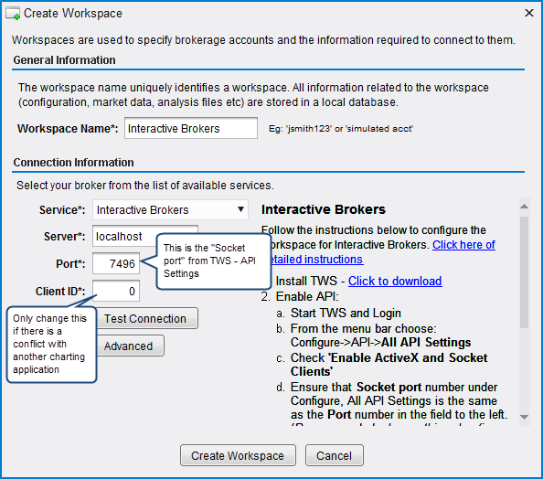 Interactive Brokers Setup Guide